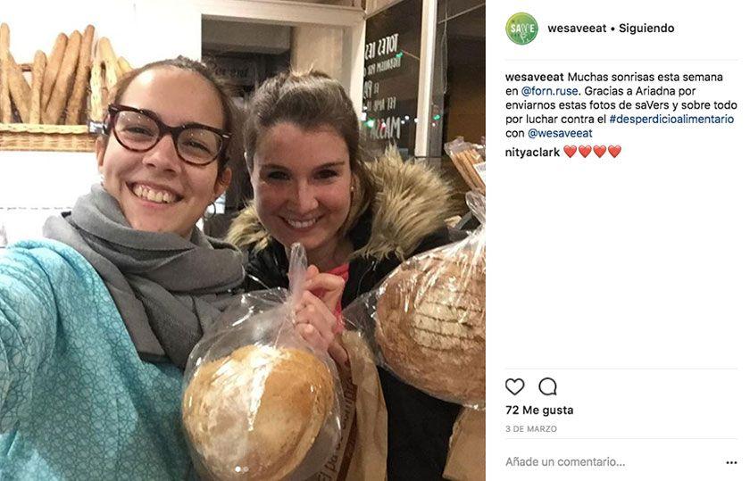 ¡Salvando alimentos con WeSaveEat