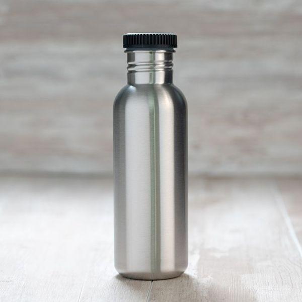 Botella de acero inoxidable Basic Steel 1 litro laken