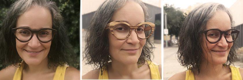 Moler. Gafas de madera sostenibles. Yve Ramírez, La Ecocosmopolita