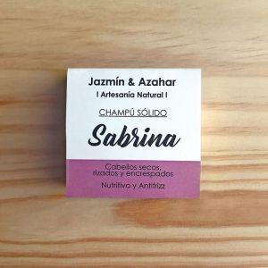 Champú sólido Sabrina, cabellos secos y encrespados