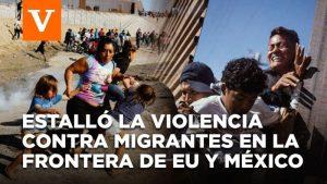 Video: En frontera de México y EU, la policía marca a niños migrantes ¡con números de identificación en los brazos!