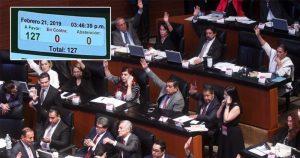 El Senado aprueba de manera unánime la Guardia Nacional con mando y estructura civil