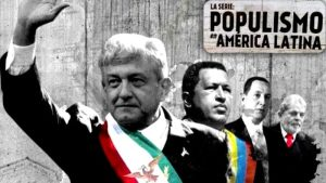 Capítulo de la serie dedicada a AMLO sobre Populismo en América Latina, cuyos creadores y respaldos económicos serán denunciados por el gobierno mexicano ante laFiscalíade Delitos Electorales y el INE