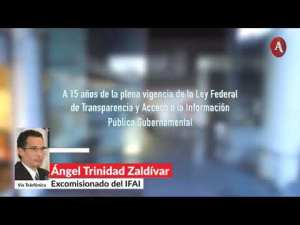 Meade nos amenazó con cárcel por exigir transparencia en condonaciones fiscales: Excomisionado IFAI