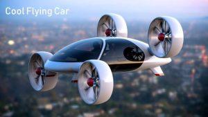 Video de autos voladores