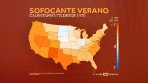 En diversas ciudades de California el calor extremo ha aumentado a causa del calentamiento global