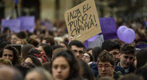 Videos: Madrid se tiñe de morado para iniciar un mes de revuelta feminista