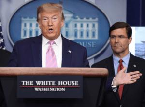 Trump ordena duplicar militares en el Pacífico y el Caribe para combatir al narco en tiempos de COVID-19