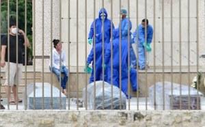 Colapsan funerarias en Ecuador. Cadáveres de fallecidos por coronavirus, en las calles
