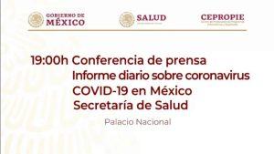 #EnVivo: Reporte sobre COVID-19 en México. 29 de mayo