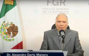 Videos: Acepta Fiscal Gertz Manero debate con Buscaglia sobre labor de FGR contra crimen