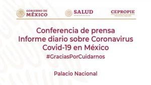 #EnVivo: Reporte diario sobre COVID-19 en México. 1 de agosto