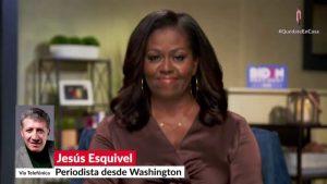 Trump es el presidente equivocado para nuestro país: Michelle Obama
