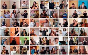 Video: Sinfónica de la Facultad de Música de la UNAM hace vibrar al público en concierto virtual