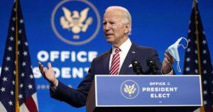 """Biden: """"Estamos en guerra con el virus, no los unos con los otros"""""""