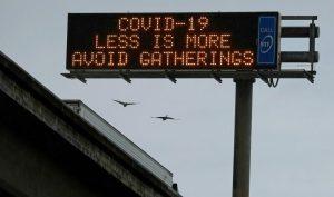 Comenzó el toque de queda en 41 de los 58 condados de California