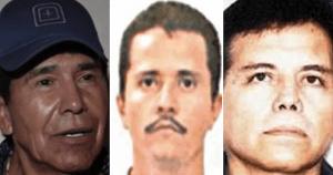 """Caro Quintero, #1. """"El Mayo"""", #2. """"El Mencho"""", #4 y """"El Chapito"""", #8. La DEA tiene nuevas prioridades"""