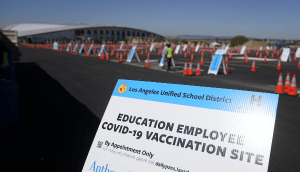 Poll: Nearly Half of Educators Have Had At Least One COVID-19 Shot