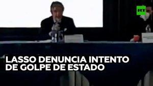 Video: Lasso denuncia un intento de golpe de Estado durante las elecciones presidenciales en Ecuador