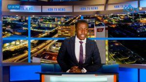 Video: Un presentador de noticias interrumpe el informativo para quejarse en vivo de la falta de pago de su salario