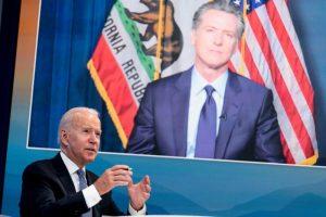 El presidente Biden pide a californianos votar en contra de la destitución del gobernador Newsom