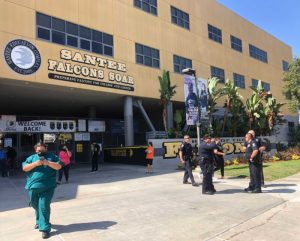 Tiroteo en el perímetro de escuela Santee deja dos heridos