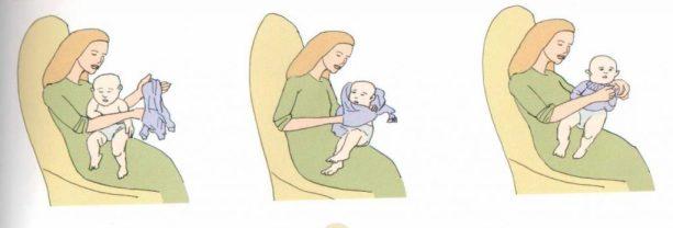 como vestir a tu bebé