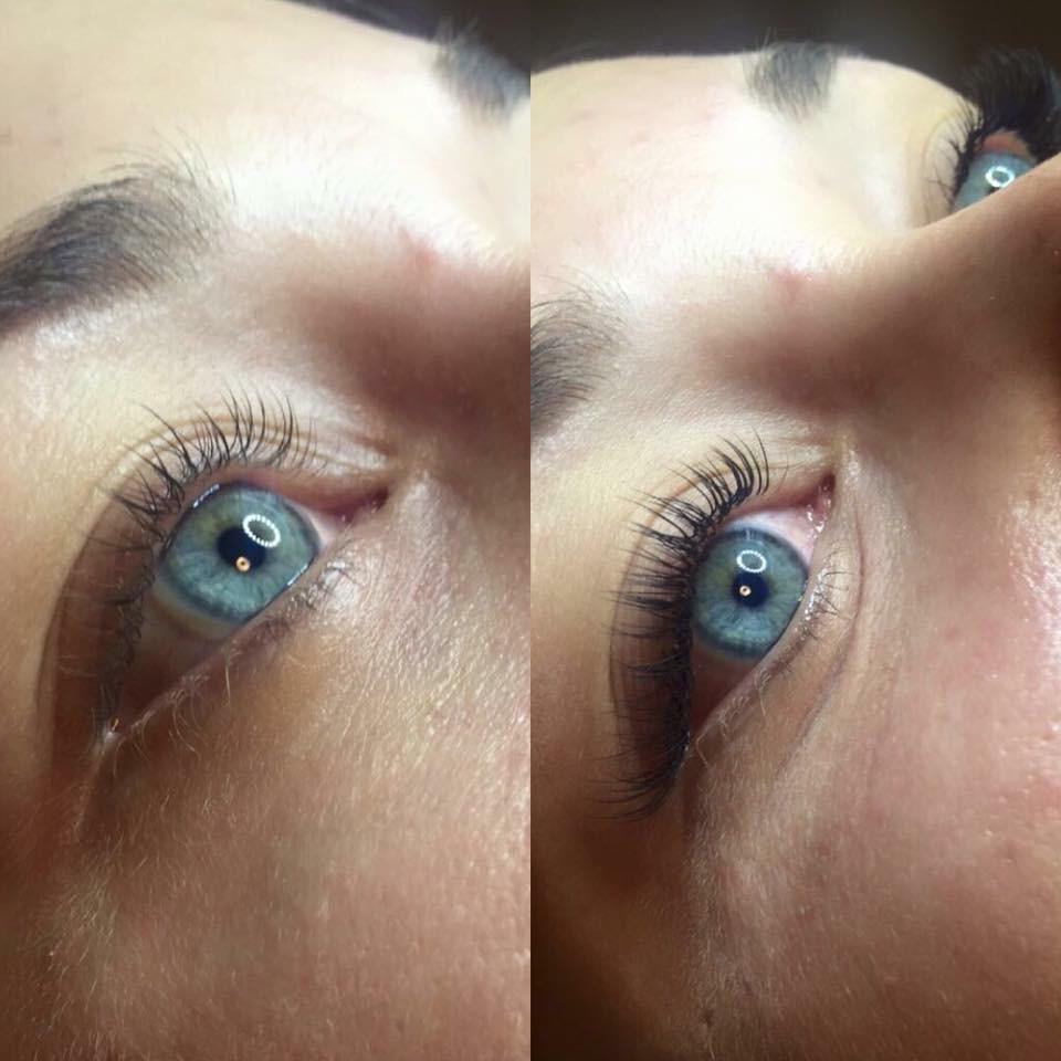 single lashes behandling