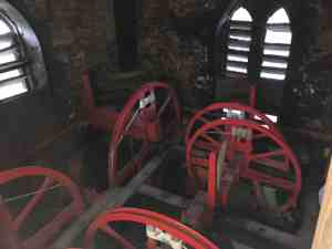 bell wheels in the belfry