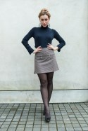 ZLATINA CHECK SKIRT-2