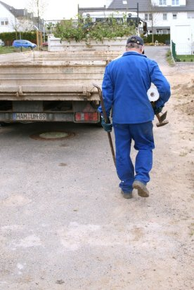 Hausbau | Erdarbeiten | Bild 2