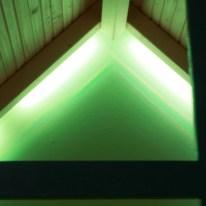 ...LED-Lichtleiste Dioder von Ikea lässt sich je nach Stimmung anpassen.