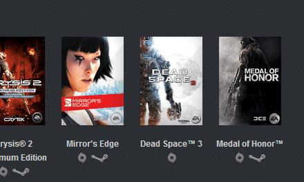 8 juegos de EA por sólo 5 dólares