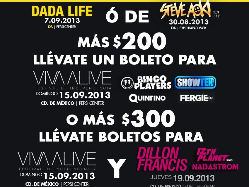 ¡Promociones Alive! | Ciudad de México
