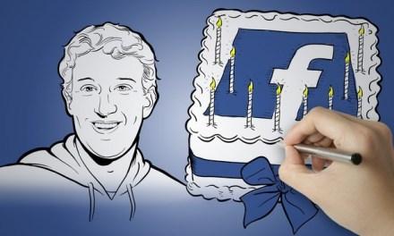 Facebook cumple 10 años y nos ofrece una retrospectiva