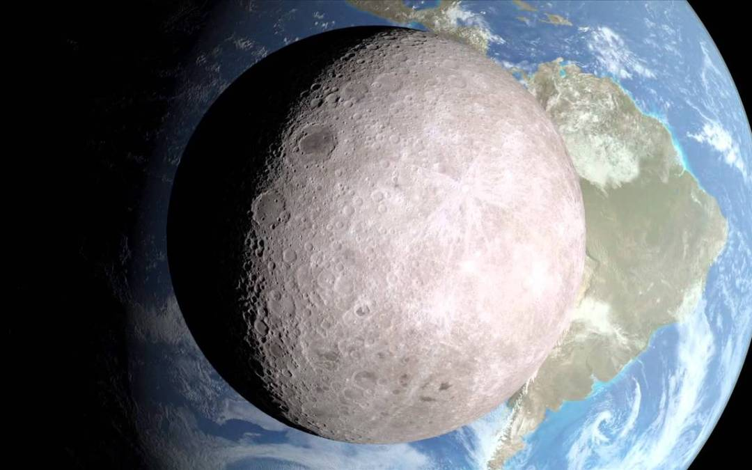 La NASA descubre lo que hay en el lado oscuro de la luna
