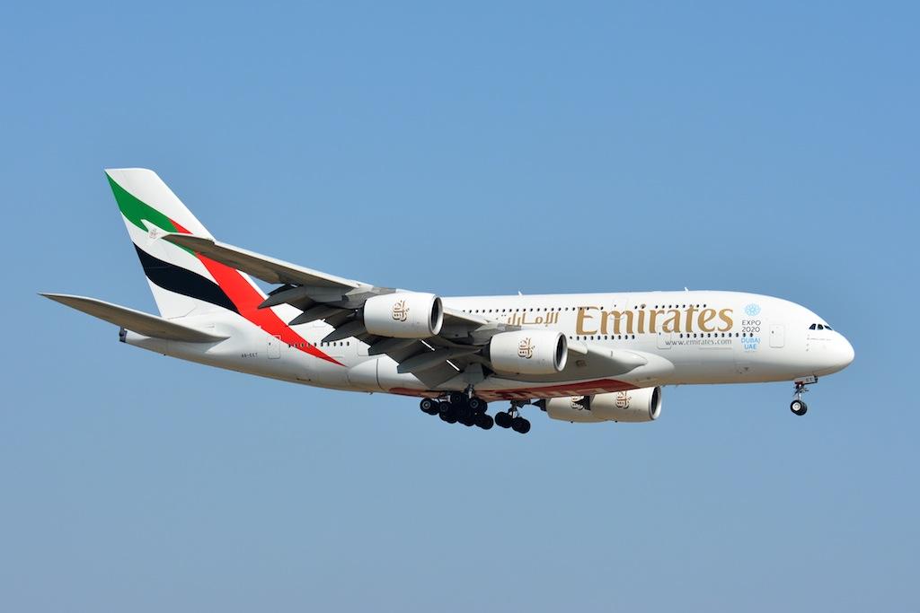 Emirates va tester l'A380 à Beyrouth