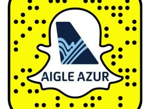 Aigle Azur se lance sur Snapchat