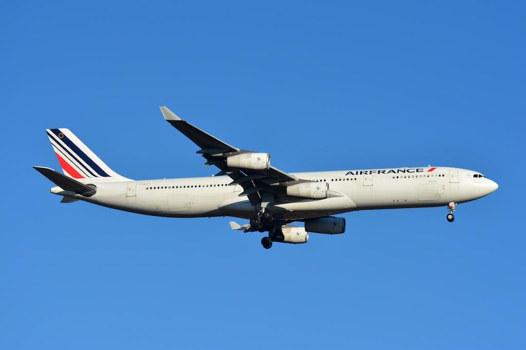 Air France : deux A340 démantelés aux Pays-Bas