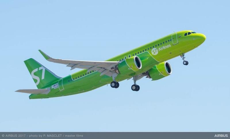 S7 Airlines satisfaite de l'A320neo