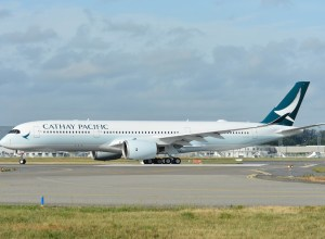 Cathay Pacific : l'A350 part pour Newark et San Francisco