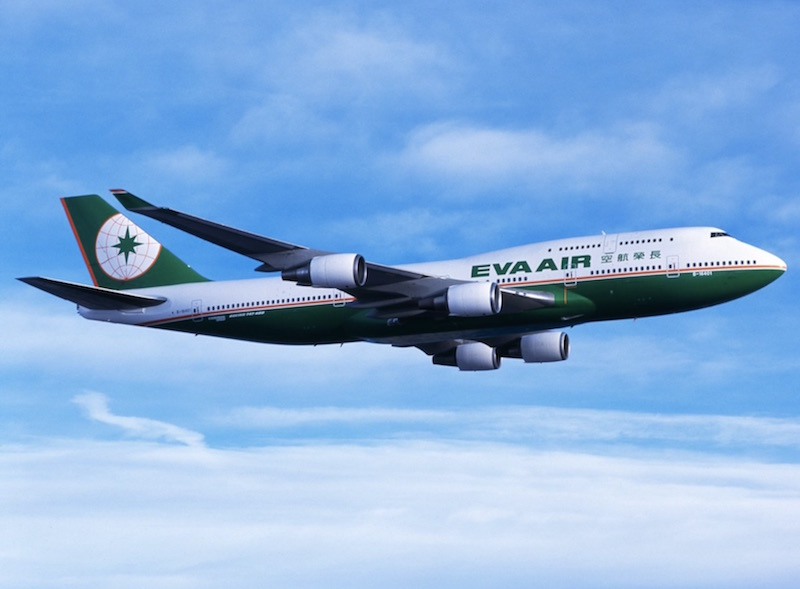 EVA Air retire le Boeing 747-400 passagers