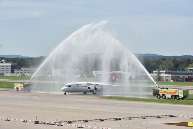 SWISS dit adieu à l'Avro RJ100