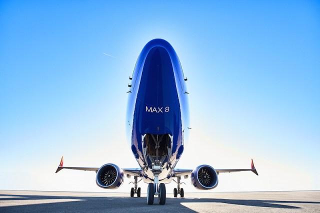Southwest reçoit son premier Boeing 737 MAX (photos)