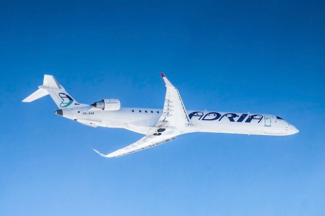 Austrian Airlines loue deux CRJ900 d'Adria Airways