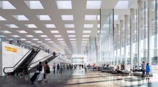 Aeroport_Amsterdam_Schiphol_nouveau_terminal_3