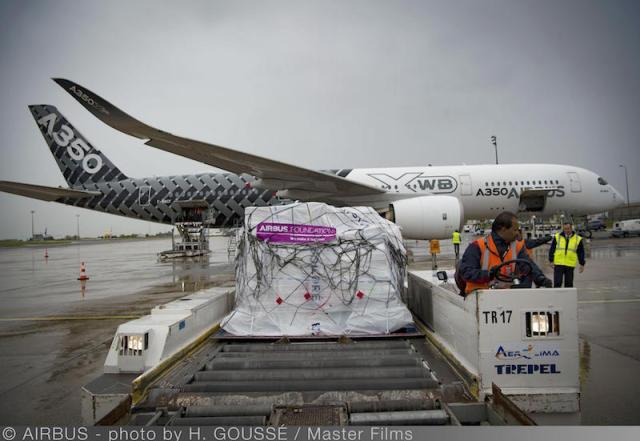 Airbus : un A350 pour venir en aide aux victimes de l'ouragan Irma