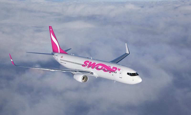 La compagnie ultra low-cost de WestJet s'appellera Swoop
