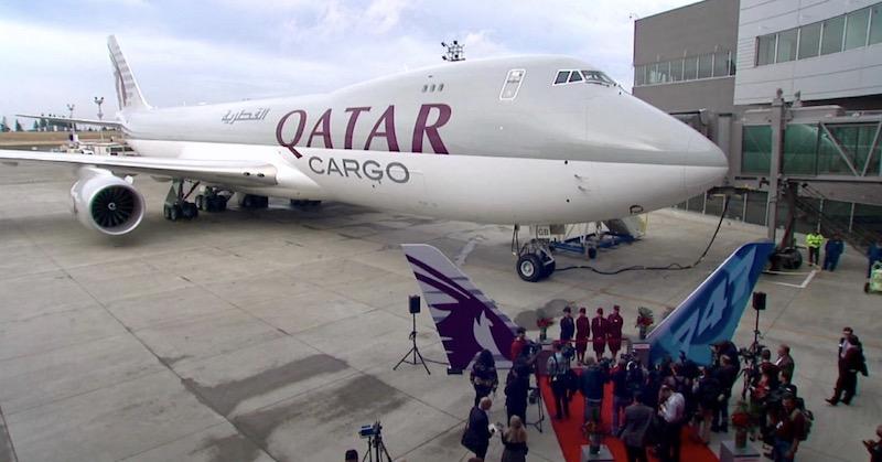 Qatar Airways commande deux 747-8F et quatre 777-300ER