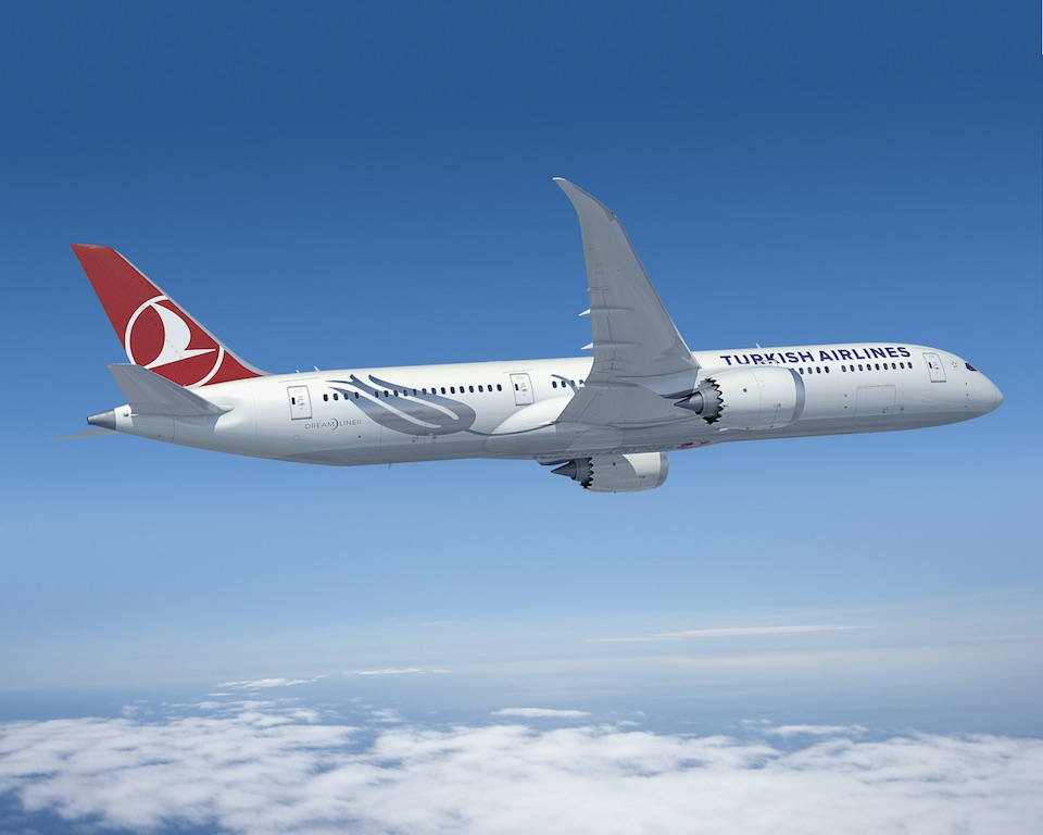 Turkish Airlines veut quarante Boeing 787-9